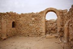 Avdat - la città antica del Nabataeans Immagine Stock