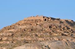 Avdat Nabataean stad i den Negev öknen, Israe Royaltyfri Fotografi