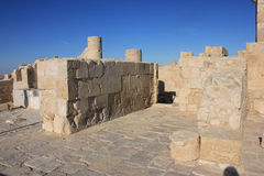 Avdat. Ruins of old city Avdat in Israel Royalty Free Stock Photography