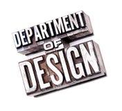 Avdelning av designen Arkivfoton