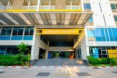Avdelning av matematik och datavetenskap på Chulalongkorn Royaltyfria Foton