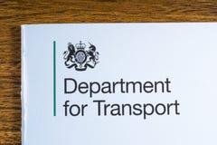 Avdelning för transport Arkivfoton
