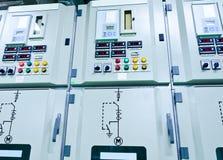 Avdelningskontor för elektrisk energi arkivbilder