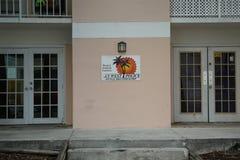 Avdelningskontor för enhet för Key West polisencykel i Key West, Florida Royaltyfri Fotografi