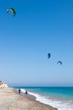 AVDIMOU, CYPRUS/UK - LIPIEC 25: Uczyć się kani kipiel w Avidmou zdjęcie royalty free
