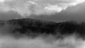 Avdunstning i berget Royaltyfri Bild