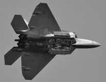 Ave de rapina F-22 Imagem de Stock Royalty Free