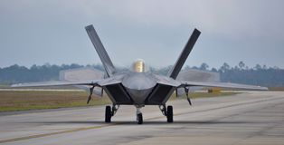Ave de rapina F-22 Fotos de Stock