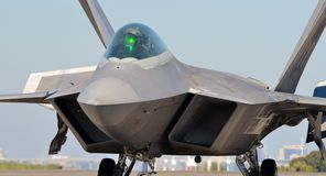 Ave de rapina F-22 Fotografia de Stock Royalty Free