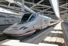 AVE high speed train Stock Photo