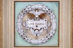 Ave Maria royalty-vrije stock afbeeldingen