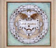 Ave Maria royalty-vrije stock afbeelding