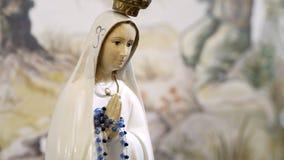 Ave Maria statua w kościół zbiory
