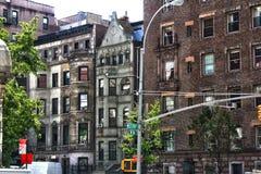 Ave New York City för västra slut Fotografering för Bildbyråer