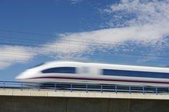 AVE pociąg Zdjęcie Stock
