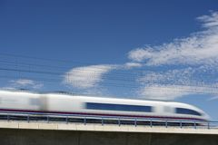 AVE train Royalty Free Stock Images