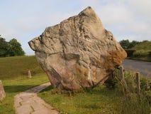avebury圈子石头 库存照片