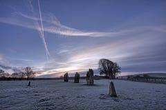 avebury πέτρα κύκλων Στοκ Φωτογραφίες
