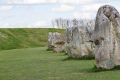 avebury πέτρες Στοκ Φωτογραφίες
