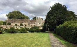 Avebury England , UK - gardens of avebury mansion at Dovecote in Avebury, Wiltshire , England