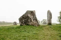 Avebury Henge Wiltshire eniga Kindom Royaltyfria Foton