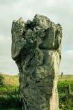 Avebury, Neolithic henge monument, UNESCO World Heritage site, Wiltshire, southwest England. ENGLAND, AVEBURY - 03 OCT 2015: Avebury, Neolithic henge monument Stock Photo
