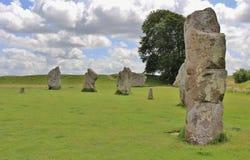 Avebury Neolithische Henge Stock Fotografie