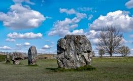 Avebury-Steine Stockbild