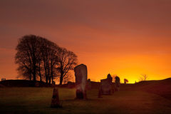 Avebury Stone Circle Stock Photos
