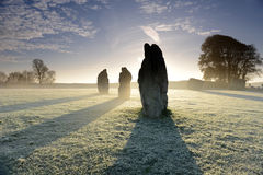 Avebury Stones Royalty Free Stock Images