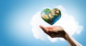 Avec amour à notre planète Photographie stock