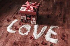 Avec amour Photos stock