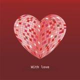 Avec amour Photographie stock libre de droits