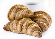 Avec de croissants Image libre de droits