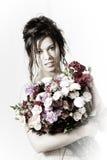 Avec fleurs Photos libres de droits