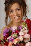 Avec fleurs Image libre de droits