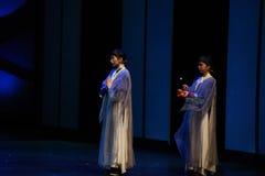 Avec l'auto-culture-de retour de nonne aux impératrices palais-modernes de drame dans le palais Image libre de droits