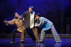 Avec l'opéra profond de Jiangxi de haine et de ressentiment une balance Images stock