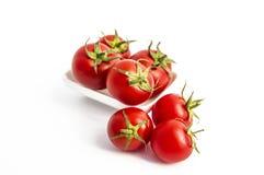 Avec son excellente saveur, les tomates minuscules sont le meilleur pour la santé Photographie stock