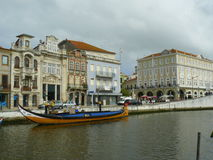 Aveiro budynki, Portugalia Obraz Royalty Free