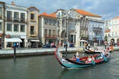 Aveiro canal Royalty Free Stock Photo