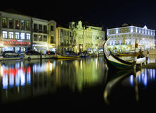 Aveiro city Royalty Free Stock Photo