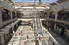 Aveiro forum Stock Photo