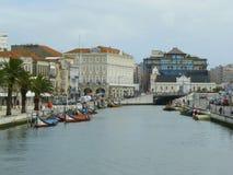 Aveiro miasto, Portugalia Obrazy Royalty Free