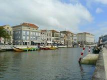 Aveiro miasto, Portugalia Zdjęcia Royalty Free