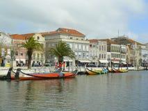 Aveiro miasto, Portugalia Obrazy Stock