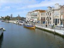 Aveiro miasto, Portugalia Zdjęcie Royalty Free