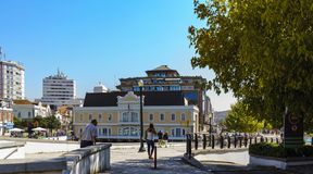 Aveiro / Portugal August 13, 2017. Old building of the village c Stock Images