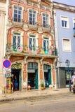 Aveiro, Portugal Brukował ulicę w dziejowym centre turystyczny miasteczko Aveiro Aveiro, Obrazy Royalty Free