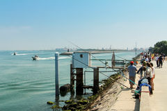 AVEIRO, PORTUGAL - JULHO 31 Foto de Stock Royalty Free
